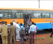 Kundapur: Public transport-deprived Henberu gets bus service at last