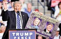 Secret Service is on Donald Trump's case