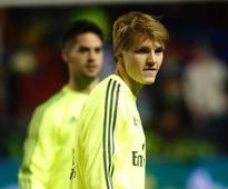 Zinedine Zidane and Florentino Perez 'clash' over Martin Odegaard