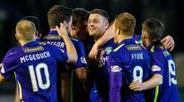 Anthony Stokes is on target as Hibernian defeat Greenock Morton