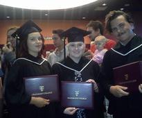 College grads celebrate