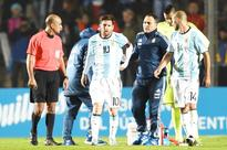 Injury scare for Messi