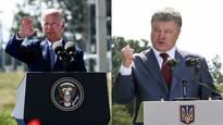 Joe Biden, Petro Poroshenko discuss surge in fighting in eastern Ukraine: White House