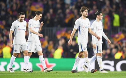 Conte says Chelsea loss to Barca was 'unfair'