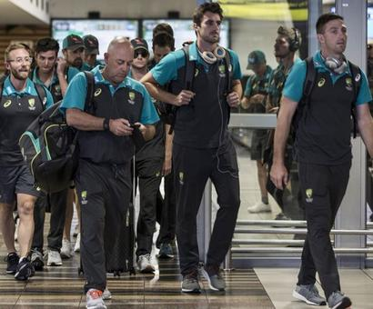 Ball-tampering shame: Embarrassed Australia awaits return of fallen heroes