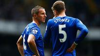 Phil Jagielka, Jones Stones out of Everton friendly with inuries
