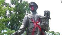 Police dept. 'on edge' after memorial is vandalized