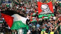 Celtic face UEFA charge over Palestine flag display
