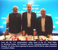 CII to launch WATSCAN for Water Evaluation in Southern States
