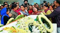 BSF plane crash: Relatives confront Rajnath Singh