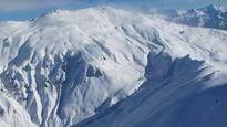 Avalanche triggered at Treble Cone ski field, near Wanaka