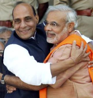 Is Rajnath Singh behind the upheaval in UP BJP?