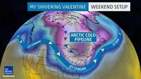 Valentine's Day Weekend: Cold Outbreak In Northeast, Midwest Expected (MAP, TWEET)