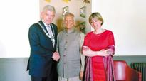 Prof Yunus inaugurates social business forum in the Netherlands