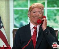 Geraldo Rivera Spoofs Donald Trump on 'Dancing With the Stars'