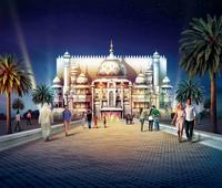Rides unveiled at Dubai's Bollywood theme park