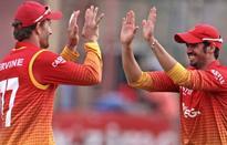 Zimbabwe salvages tie with Windies
