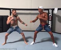 Cristiano Ronaldo trains with Conor McGregor as fighter prepares for UFC 202