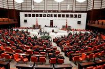 Clashes in the chamber as Turkish Parliament moves to hand power to president