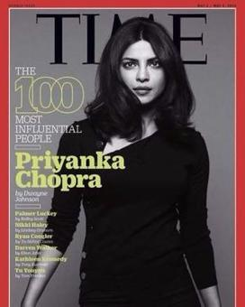 Priyanka sashays into Time's 100 most influential people