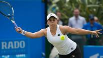 Ash Barty in successful return to tennis
