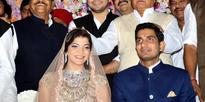 Newly couple Aditiya Yadav and Raj Laxmi son of Shivpal Singh Yadav