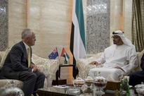 Sheikh Mohammed bin Zayed receives Australian Prime Minister