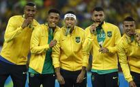 With penalty kick, Brazil wins 1st football Olympics gold