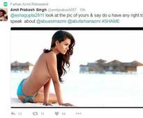 Abu Azmi's son Farhan slutshames Esha Gupta, goes on misogynist rant