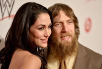 Brie Bella and Daniel Bryan attend WWE & E! Entertainment's 'SuperStars For Hope' at the Beverly Hills Hotel.
