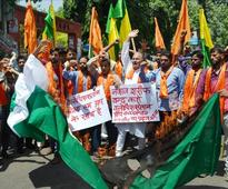Shiv Sena holds protest rally in support of Balochistan and PoK in Jammu