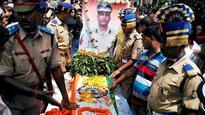 Jharkhand: Last rites of martyred CRPF commandant Pramod Kumar held in Jamtara