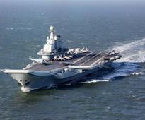 China tests aircraft carrier's capabilities in South China Sea