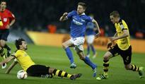 Dortmund down Hertha to face Bayern in cup final