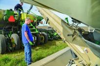 Planting progress ramps up between rain showers