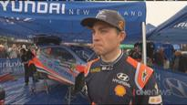 David Holder holds off Hayden Paddon to win Rally of Whangarei