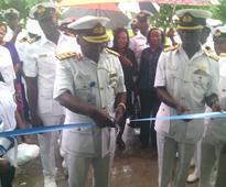 FOC West task naval officers on regular medical checkup