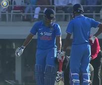 PHOTOS and VIDEO: Fan invades pitch to touch MS Dhoni's feet