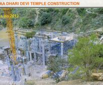 MoEF changes stand on relocation of Dhari Devi temple for Alaknanda dam