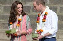 The royals dazzle during their India visit