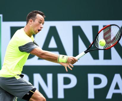 Indian Wells PHOTOS: Kohlschreiber stuns Cilic, Yuki ousted; Halep rolls on