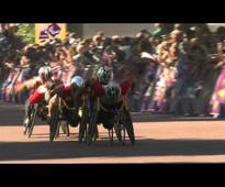 Highlights: T11/12, T46 and wheelchair marathon - London 2012 Paralympic Games
