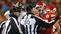 Travis Kelce trashes the officials after the Chiefs' loss to the Steelers