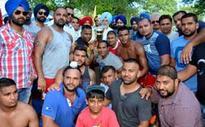 Kabaddi & Volleyball contest at Punjabi Mela