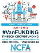 VanFUNDING 2016 Brings 50 Industry FinTech and Crowdfunding Leaders to Vancouver on Oct 18th