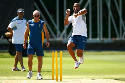 SA's Philander continues route back from freak injury