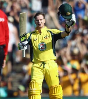 Smith's record knock powers Australia to victory