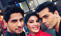 Koffee with Karan Season 5 : Siddharth Malhotra dating both Alia Bhatt and Jacqueline Fernandes; we saw smoke on the Koffee couch..