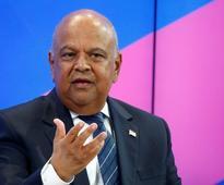 South Africa's Zuma recalls Gordhan from international roadshow, rand falls
