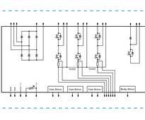 1200V power module has converter/inverter/brake integration